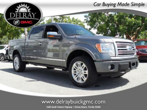 Certified Pre-Owned 2010 Ford F-150 Platinum Four Wheel Drive Truck