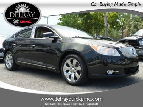 Certified Pre-Owned 2010 Buick LaCrosse CXL FWD Sedan