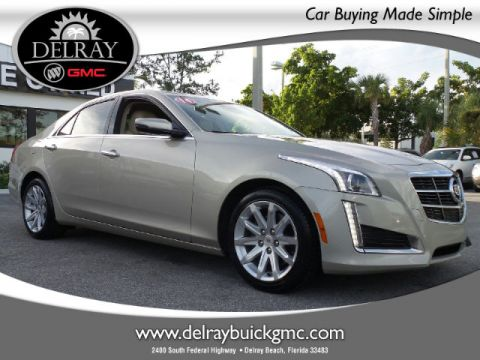 Certified Pre-Owned 2014 Cadillac CTS 2.0L Turbo Luxury RWD Sedan