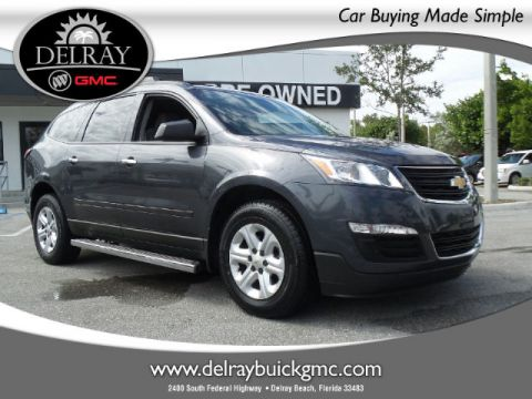 Certified Pre-Owned 2013 Chevrolet Traverse LS FWD SUV