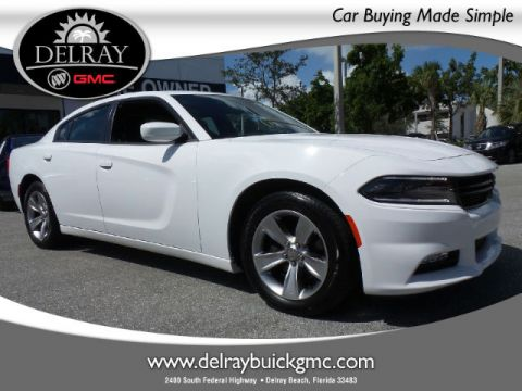 Certified Pre-Owned 2016 Dodge Charger SXT RWD Sedan