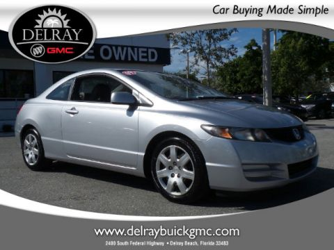 Certified Pre-Owned 2009 Honda Civic LX FWD Coupe