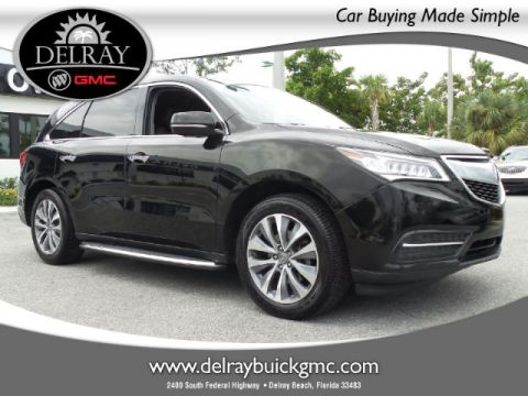Certified Pre-Owned 2014 Acura MDX 3.5L Technology Pkg w/Entertainment Pkg FWD SUV