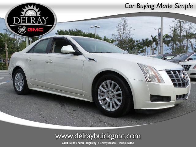 Certified Pre-Owned 2012 Cadillac CTS Base RWD Sedan