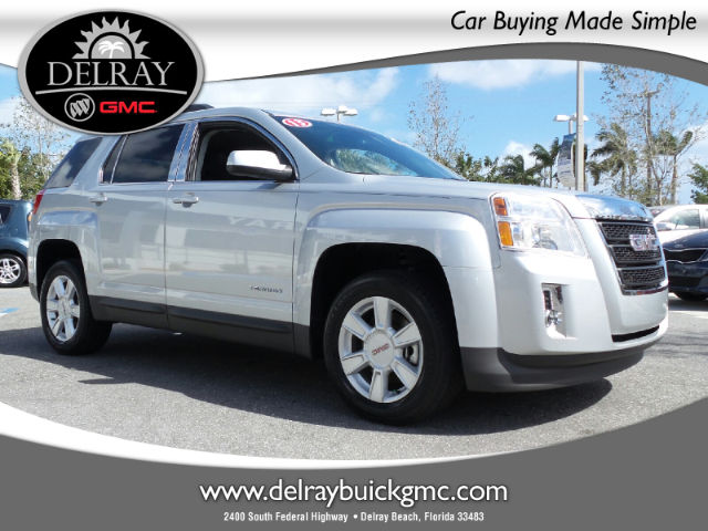 Certified Pre-Owned 2013 GMC Terrain SLT-1 FWD SUV